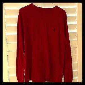 EUC Polo long sleeve t shirt with pocket